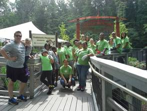 Investors Bank Helps Spruce Up Zoo, photo 2