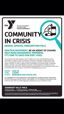 'Community in Crisis' Town Hall June 26 to Address Drug Use Among Local Adolescents, photo 1