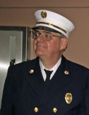 fire Chief John Shoemaker