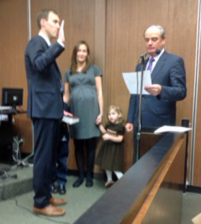 Zoning Ordinance Withdrawn; New Councilman Sworn in, photo 1