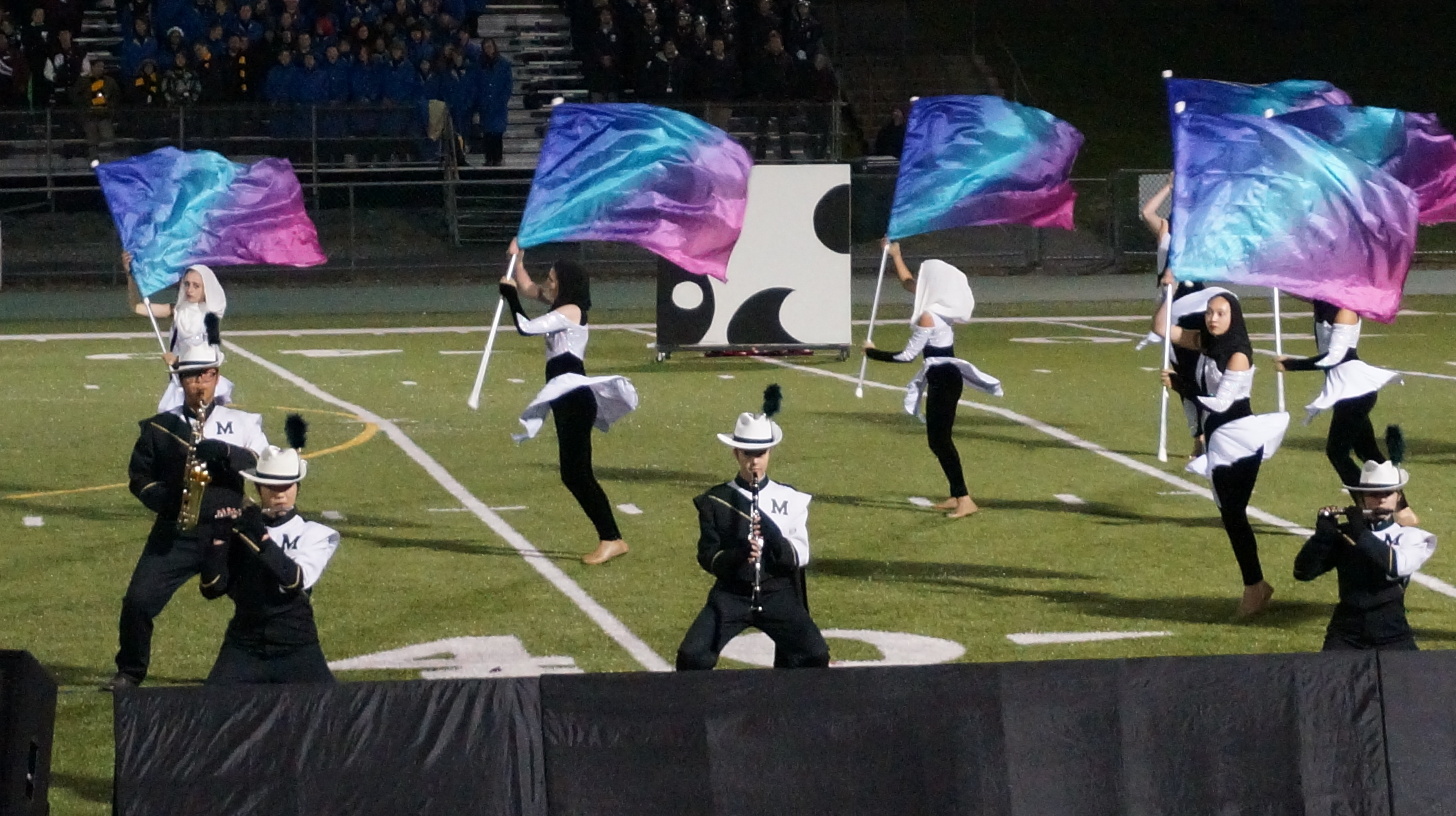 Articles about color guard - Montville Township High School Field Corps Performs At Competition Credits Melissa Benno
