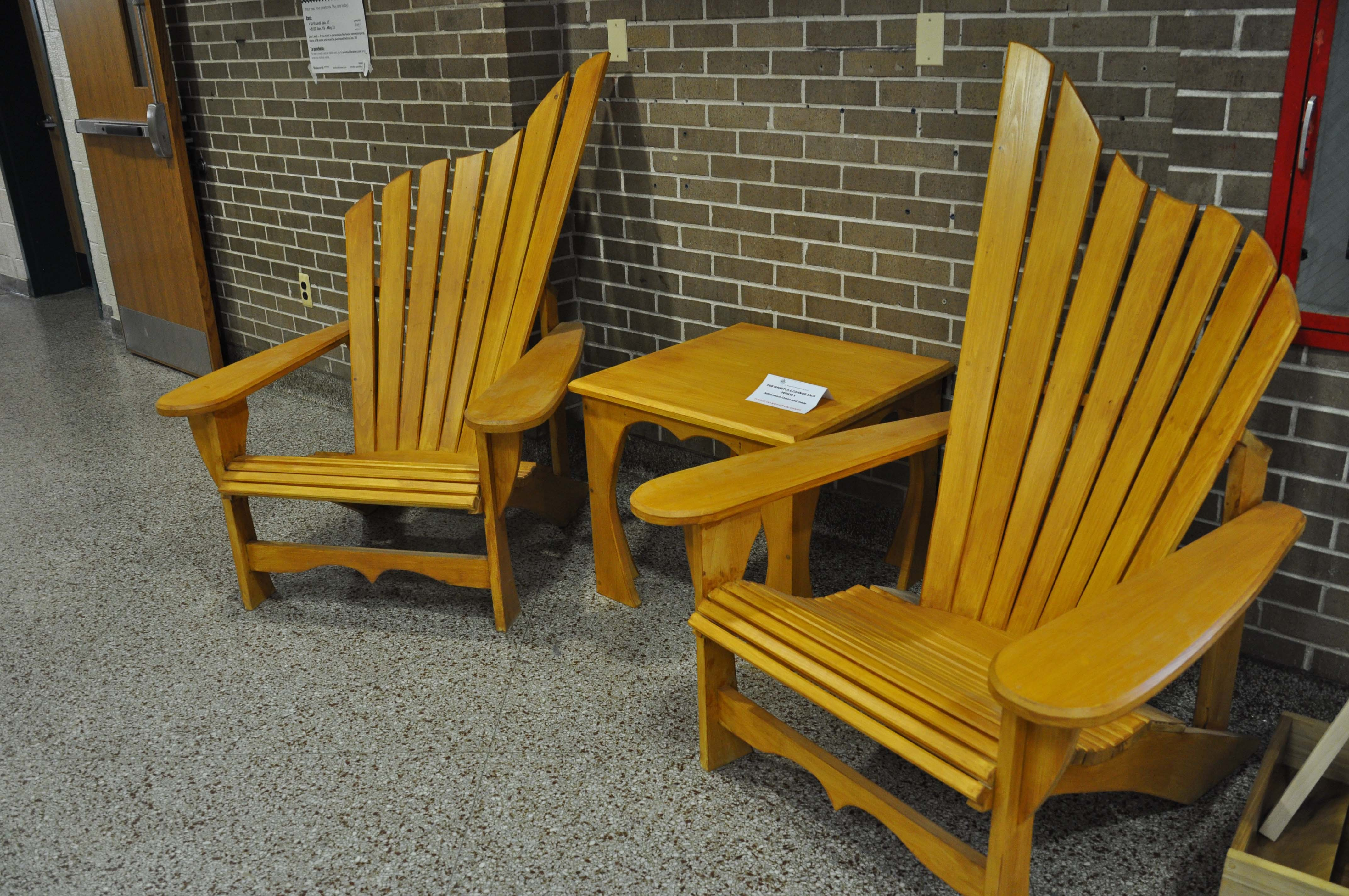 Woodworking Students at Montville Township H S bine Form and