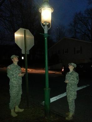 ROTC gaslight
