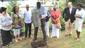 Roselle Community Joins Dr. Polk Family and Plants Time Capsule, photo 8