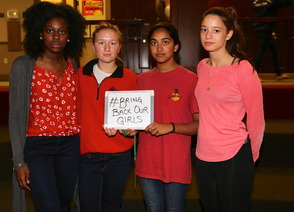 Kent Place Students Support #BringBackOurGirls Initiative