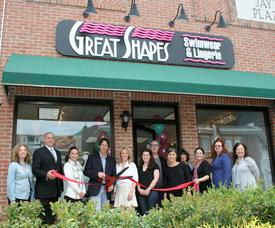 Ribbon is Cut at Great Shapes