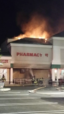 Two-Alarm Fire at Assi Market in Montgomery Township is Under Control in An Hour, photo 1