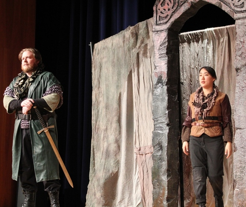 macbeth the vaulting ambition This leaves only macbeth's ambitions to gain power as justification for the murder   reason for committing the treasonous deed is his own vaulting ambition.