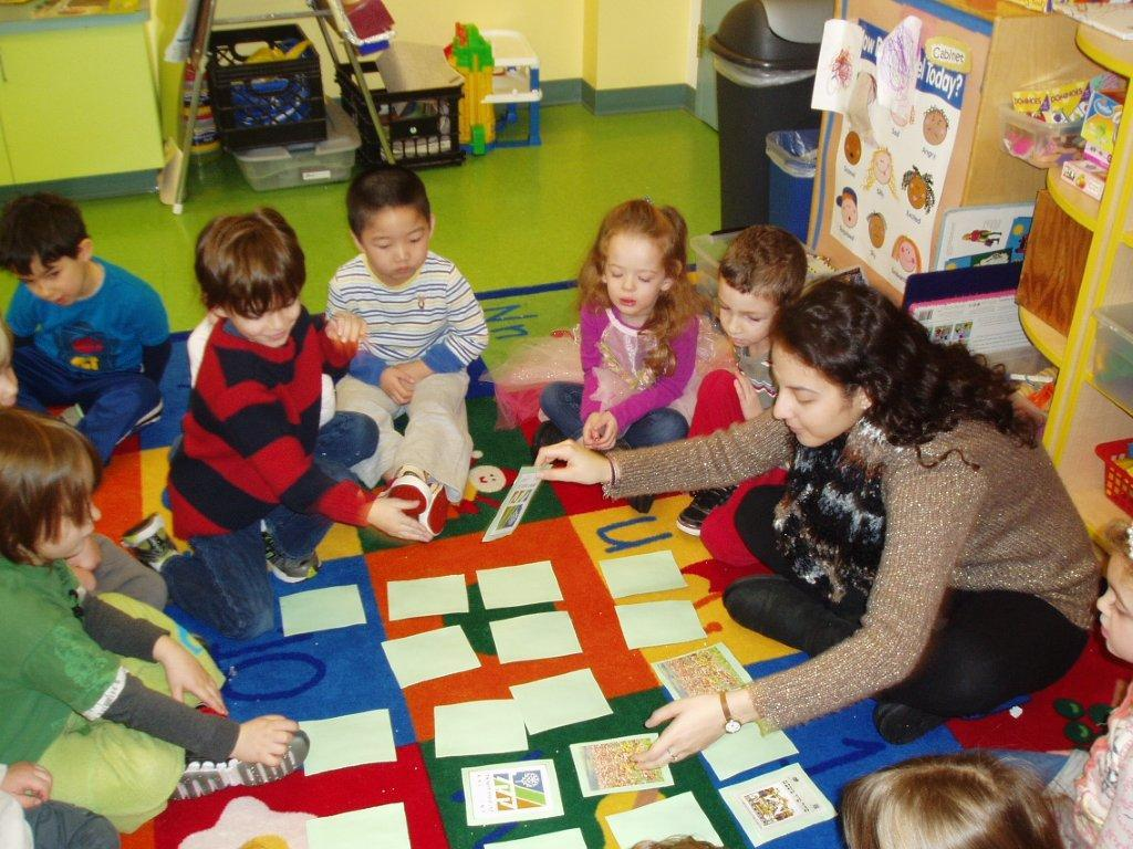 Children at Hedwig Gruenewald Early Childhood Center Learning the Joys of Giving