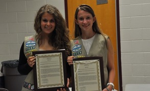 Deanna Passaretti and Piper Rawding Recognized for Girl Scout Gold Awards
