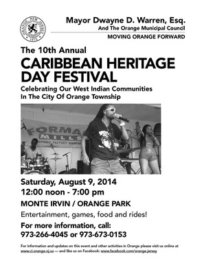 City of Orange Hosts 10th Annual Caribbean Heritage Day Festival, photo 1