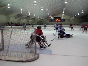 Gov. Livingston Hockey Shuts Out Newark East Side With Monroy Hat-Trick, 5-0 , photo 14