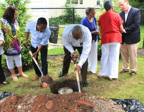 Roselle Community Joins Dr. Polk Family and Plants Time Capsule, photo 17