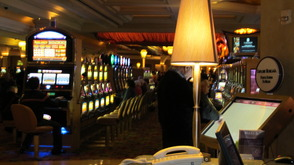 A glimpse into the Casino at Borgata Hotel
