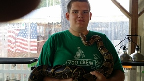 Snakes at the fair!