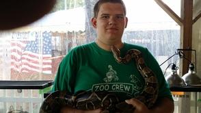 Snakes at the fair!