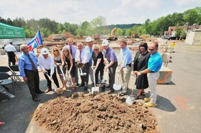 South Mountain Recreation Complex Parking Garage Groundbreaking