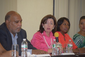 Assistant Attorney General Thompson Visits Montclair to Discuss Human Trafficking, photo 2