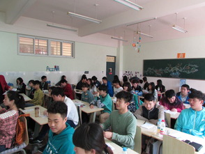 English Class at Zhengzhou High School