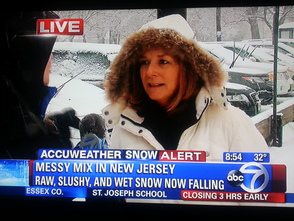 TAP Visits with Michelle Charlesworth While Channel 7 Eyewitness News Reports from Berkeley Heights, photo 2