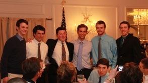 Members of the Sparta High School Baseball team