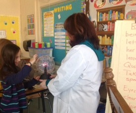 "Third Grade Experiences Electrifying ""Edison Workshop"" , photo 2"