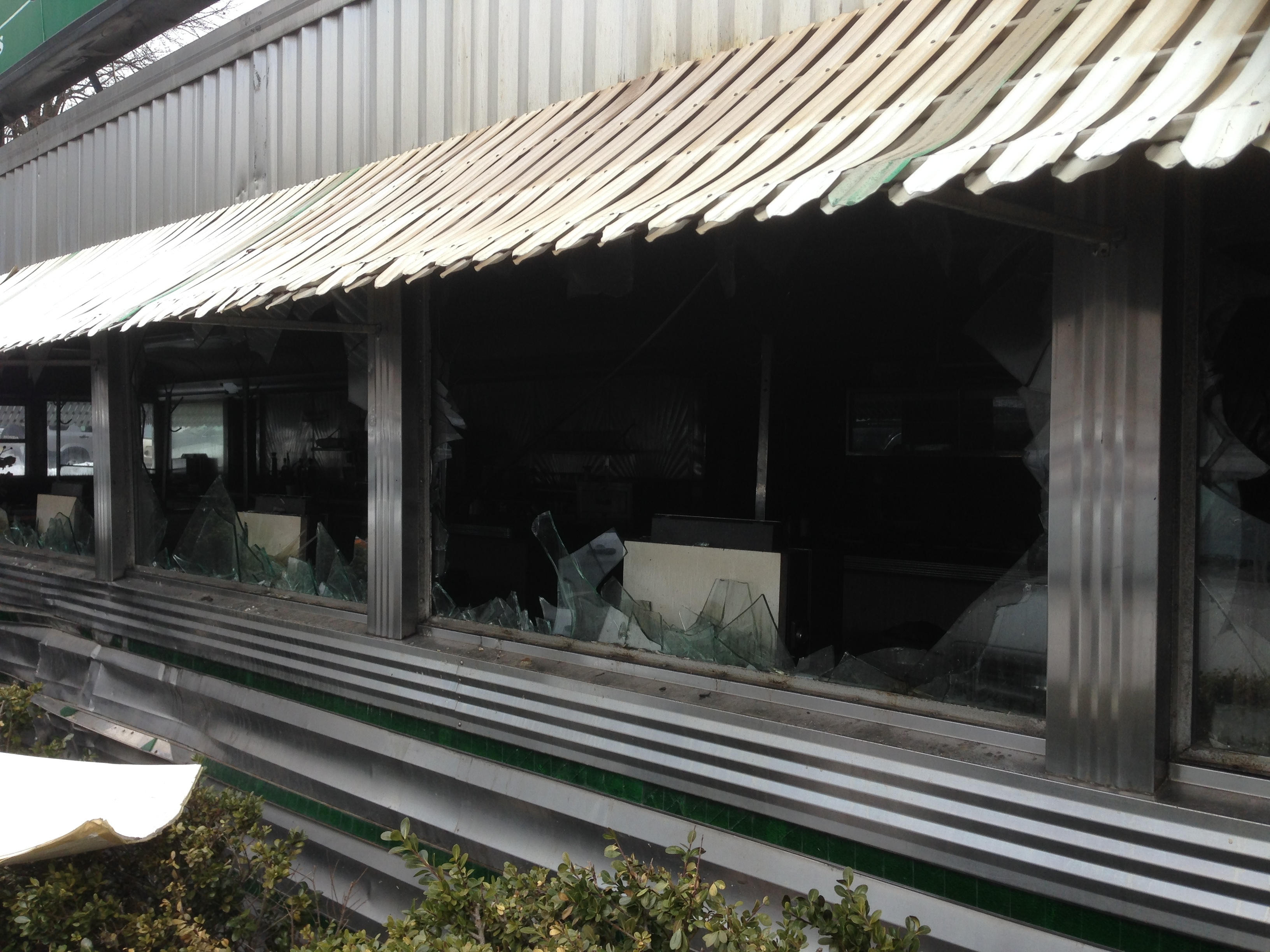 Harris Diner Destroyed By Late Night Fire