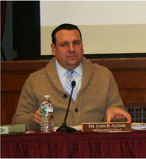 Dr. John B. Alfieri, Superintendent of Schools