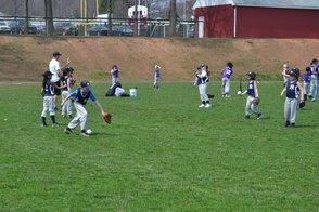 Junior League Softball and Baseball Take Instruction