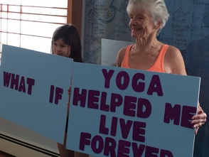 What If Yoga Helped Me to Live Forever?