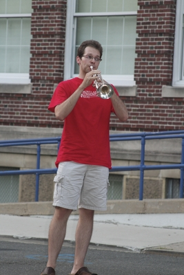 Community Band Entertains Audience on the Lawn of Montclair High, photo 3