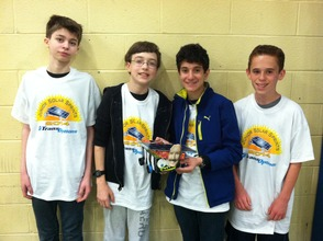 New Providence Middle School Hosts Junior Solar Sprints Competition, photo 6