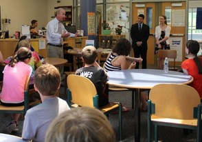 Congressman Frelinghuysen Visits Sparta Middle School Student Council, photo 4