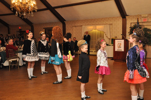 Endean Academy Dancers perform traditional Irish Dances.