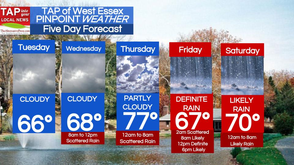 West Essex Area Weather for Tuesday, May 13, photo 1