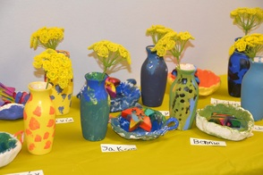 Flower Vases, Pinch Pots & Crayons!