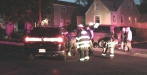 SUV Rolls Over in Roselle Sunday Night, photo 2