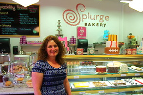 Julie Winer at Splurge Bakery