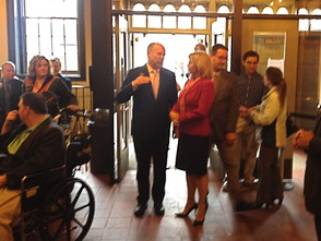 Lt. Governor Guadagno Recognizes Autism Awareness Month in Visit to Paper Mill Playhouse, photo 3