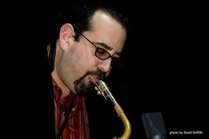 David Schumacher Playing Saxophone