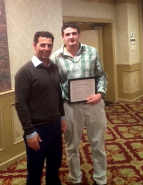 Madison H.S. Senior Donovan Mantone Wins Wrestling Award, photo 1