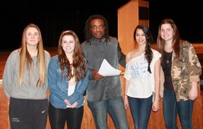 Famed Artist Willie Cole Visits Sparta High School, photo 13