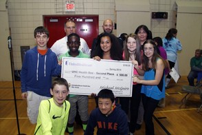 Terrill Middle School Team Takes Second