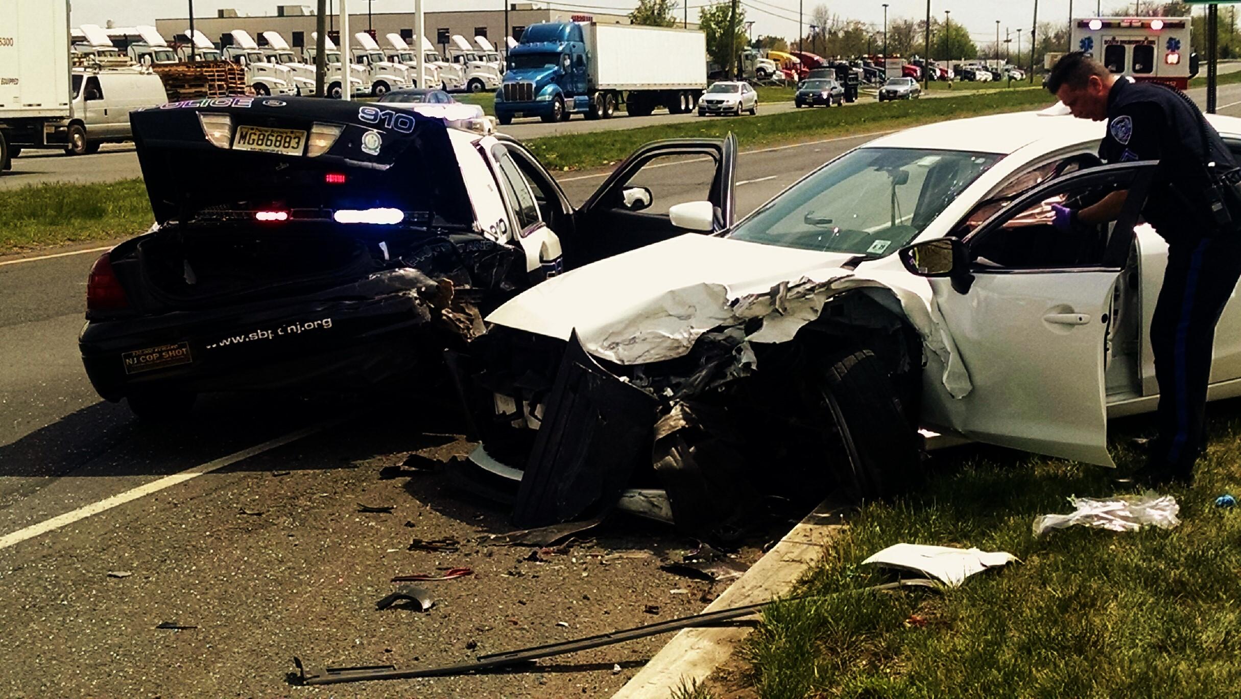 SB Police Continue Patrol Car Crash Investigation, Release Dashcam ...