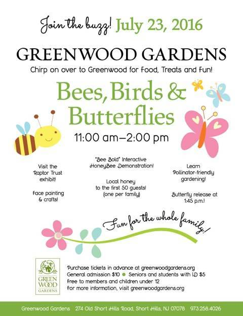 Bees Birds And Butterflies At Greenwood Gardens In Short Hills Tapinto