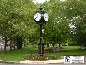 Public Invited to the Peppertown Park Clock Dedication: Saturday, July 12, photo 1