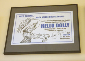 Nikki James Visits Livingston High School 'Hello, Dolly'