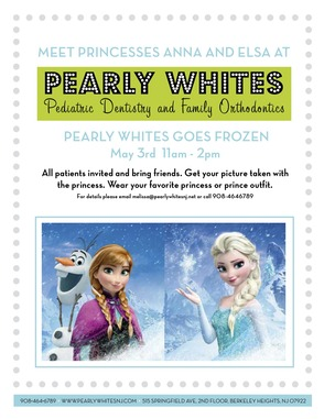 "Pearly Whites Goes ""Frozen"": Bring Your Children to Meet The Princesses, photo 1"