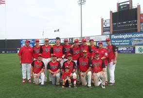 New Providence Reds Team Photo