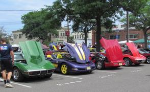Westfield Car Show